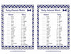 Baby Animals Match Game - PRINTABLE DOWNLOAD - Navy Gray Little Man Baby Shower Game - B1006