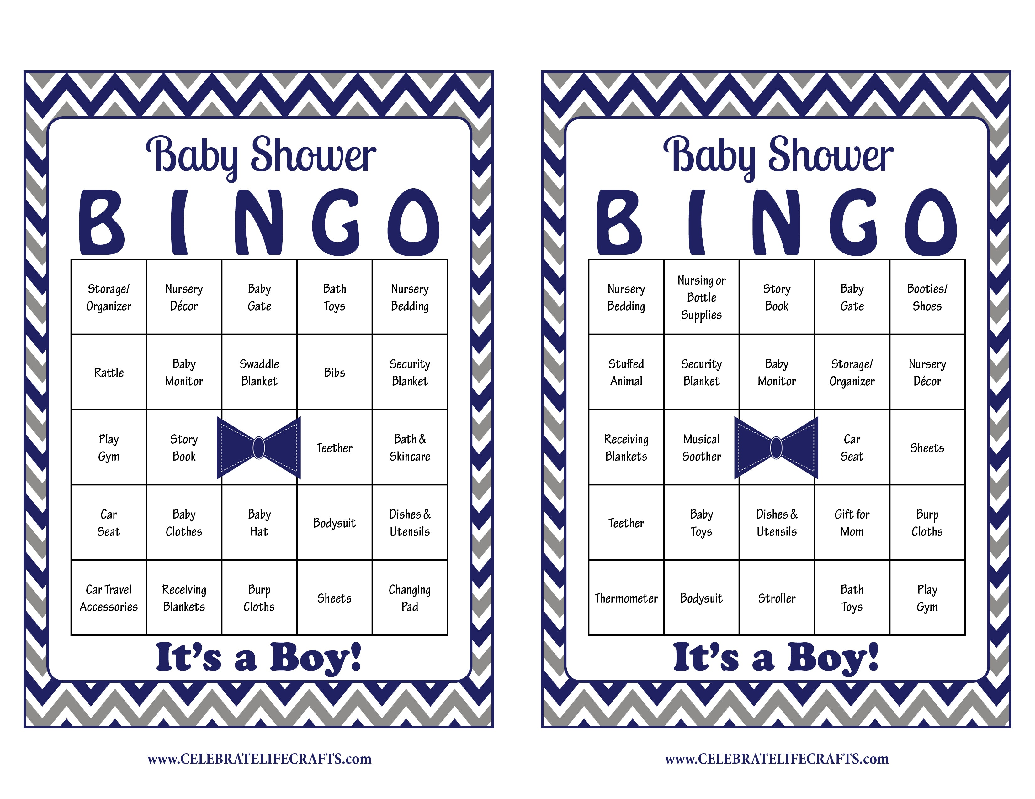 ... Little Man Baby Bingo Cards   PRINTABLE DOWNLOAD   Prefilled   Baby  Shower Game For Boy
