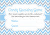 Candy Guessing Game - PRINTABLE DOWNLOAD - Blue Gray Bowtie - Little Man Baby Shower Game - B1008