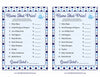 Name That Price Game - Printable Download - Navy Gray Whale Baby Shower Game - B15007