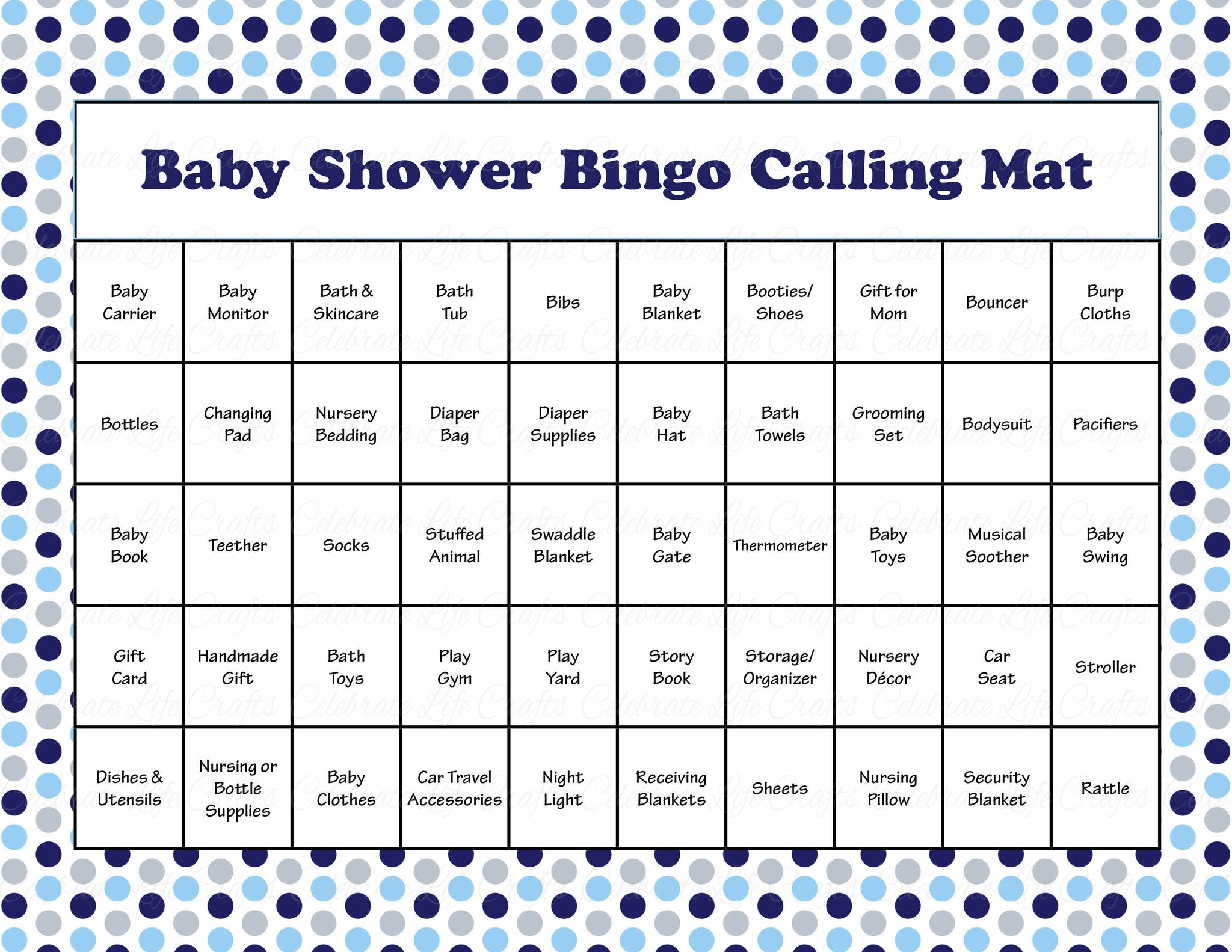 picture about Printable Bingo Calling Cards named Whale Kid Shower Recreation Obtain for Boy Child Bingo