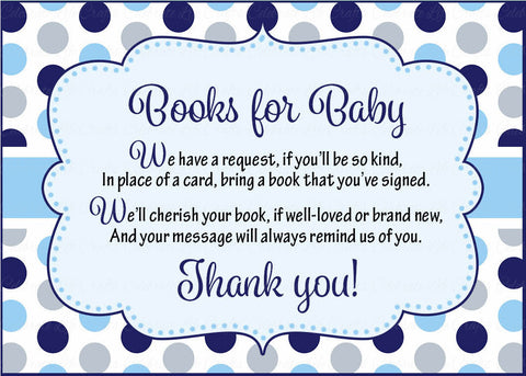 picture relating to Bring a Book Instead of a Card Free Printable identify Textbooks for Little one Playing cards - Printable Down load - Army Grey Whale Little one Shower Invitation Inserts - Armed service Grey Whale - B15007