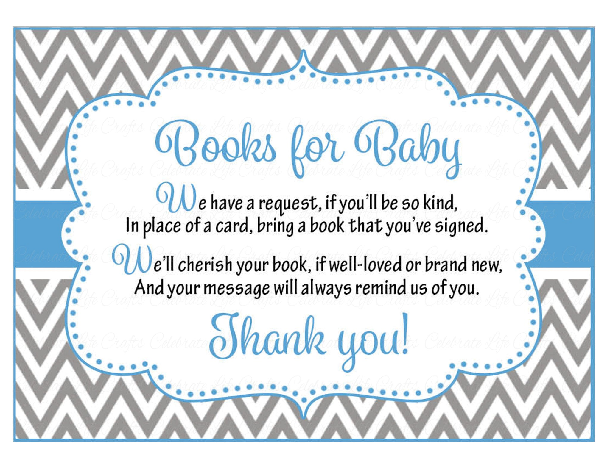 Books for Baby Invitation Inserts for Baby Shower Owl Baby