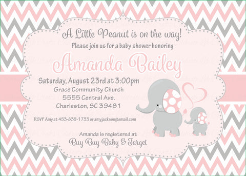 "Baby Shower Invitation | 5""x7"" PRINTABLE 