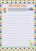 Baby Name - PRINTABLE DOWNLOAD -  Dinosaur Baby Shower Game - B38001