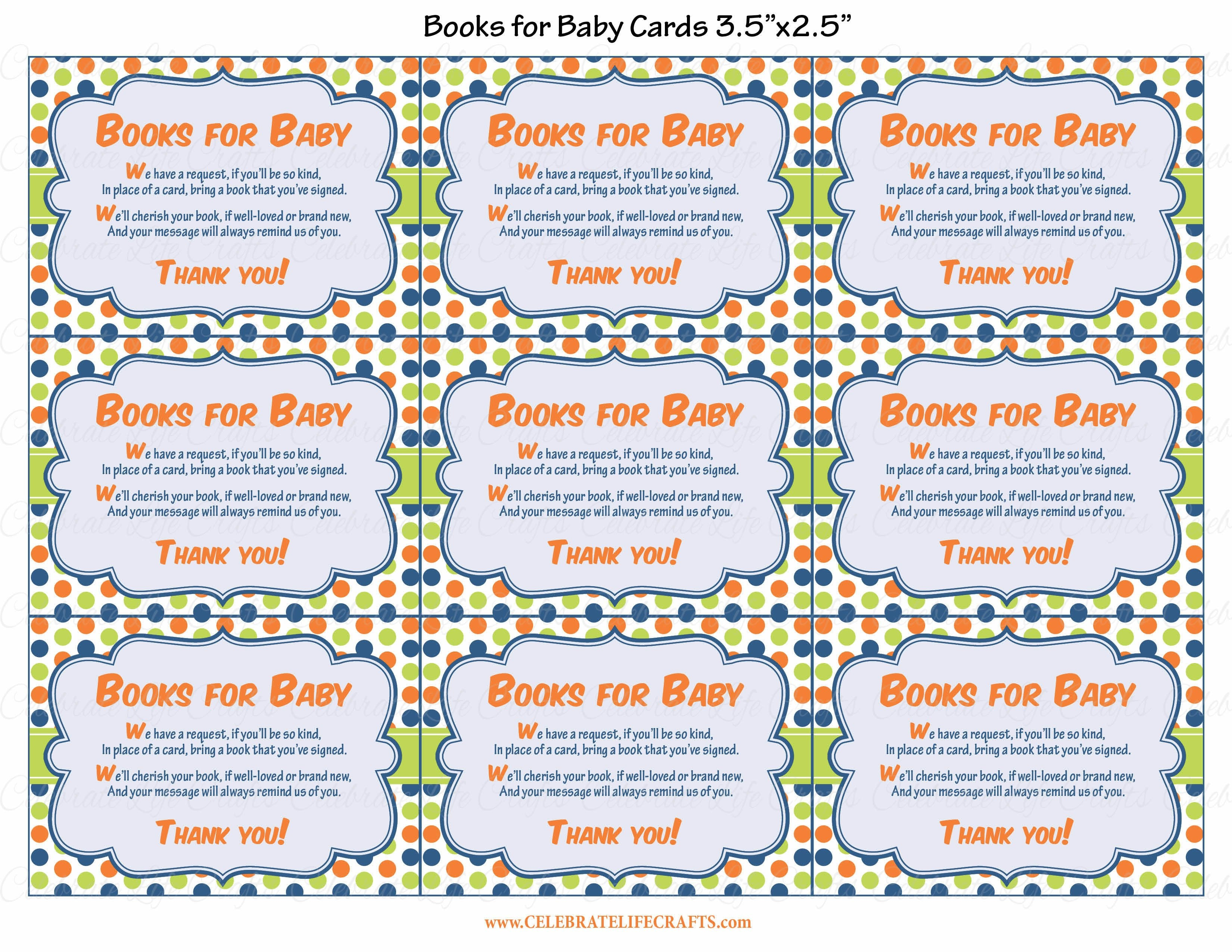 photo regarding Bring a Book Instead of a Card Printable called Textbooks for Youngster Playing cards - PRINTABLE Obtain - Dinosaur Boy or girl Shower Invitation Inserts - B38001