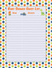 Baby Shower Guest List Set - PRINTABLE DOWNLOAD -  Dinosaur Baby Shower Decorations - B38001
