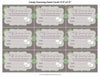Guessing Game - PRINTABLE DOWNLOAD - Lamb Baby Shower Game - B39001
