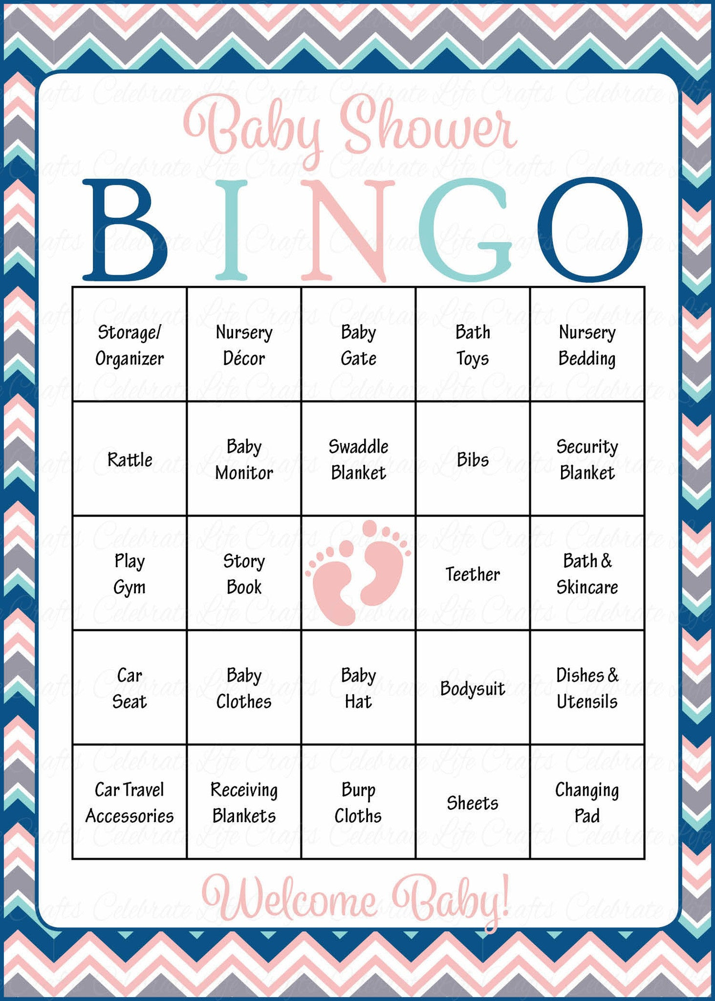 baby shower bingo cards printable download prefilled baby shower