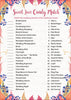 Sweet Love Candy Match Bridal Shower Game - PRINTABLE DOWNLOAD - Falling in Love Wedding Shower Game - BR1006