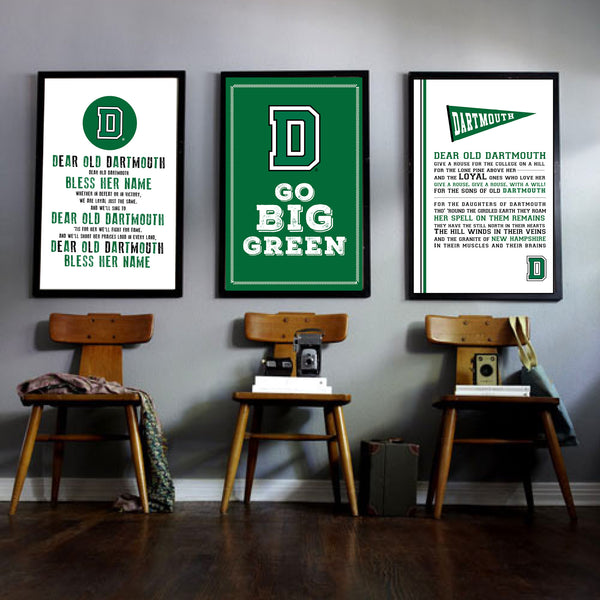 Dartmouth Fight Song Print