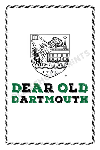 Dartmouth College Crest Print
