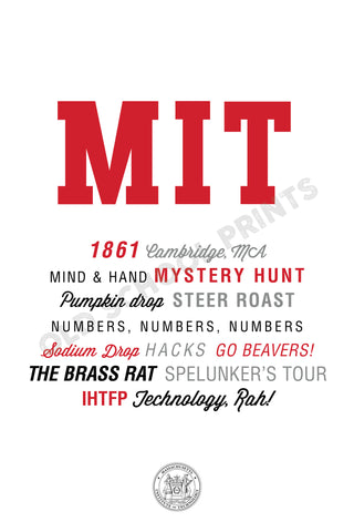 MIT Traditions Print
