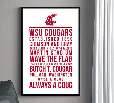 Washington State Traditions Print