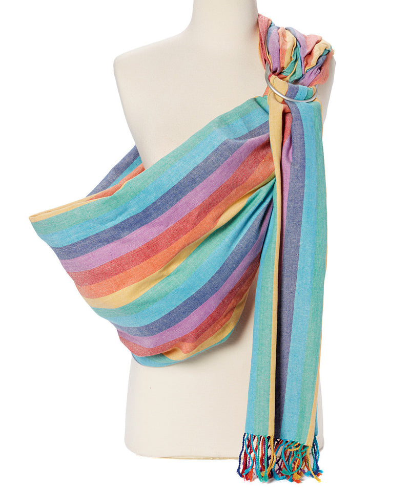 -Summer Rainbow Ring Sling