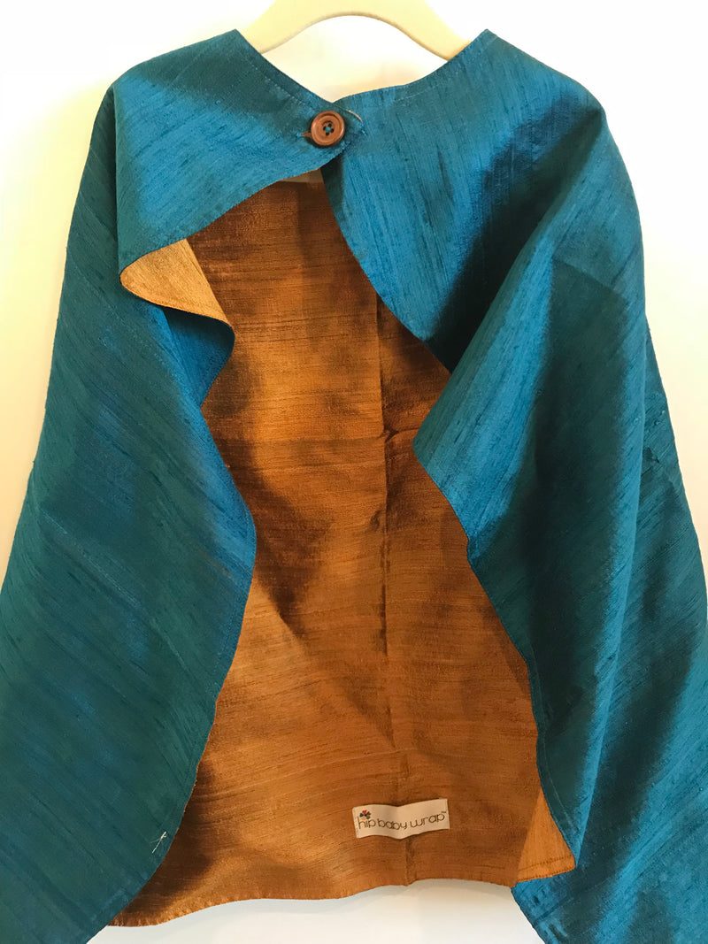 Silk Cape Blue/Gold