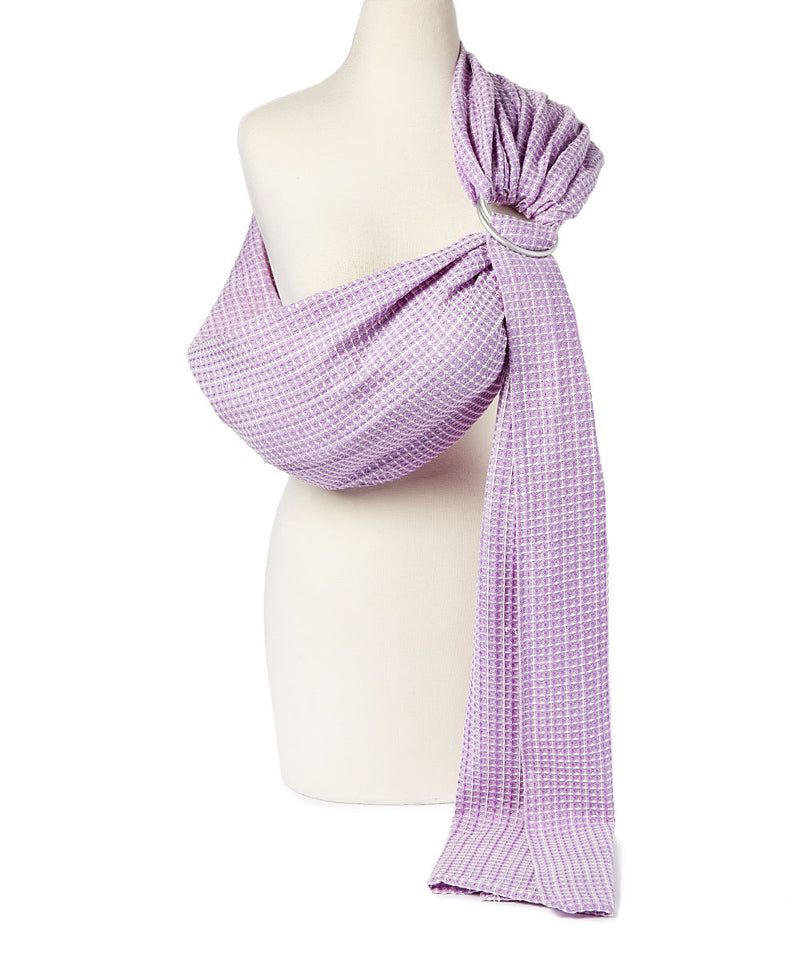 Lilac Honeycomb Ring Sling