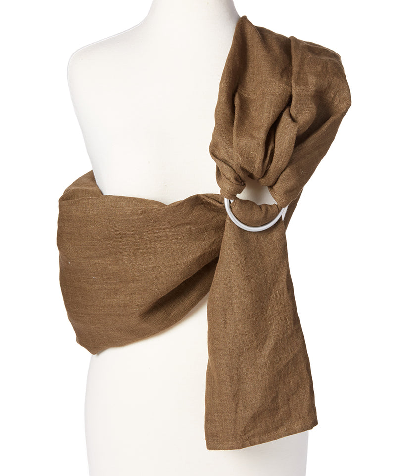 Chocolate Linen Sling