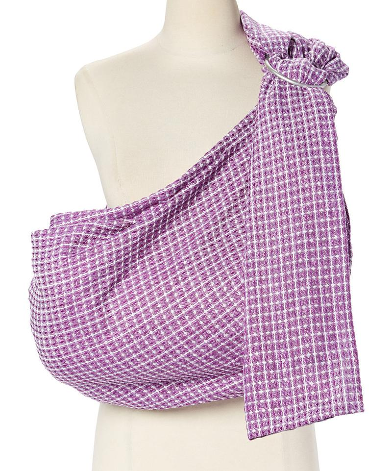 -Plum Honeycomb Ring Sling