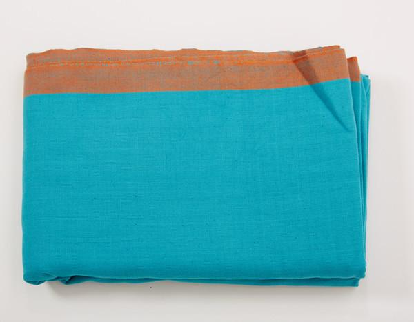-Turquoise Woven Wrap