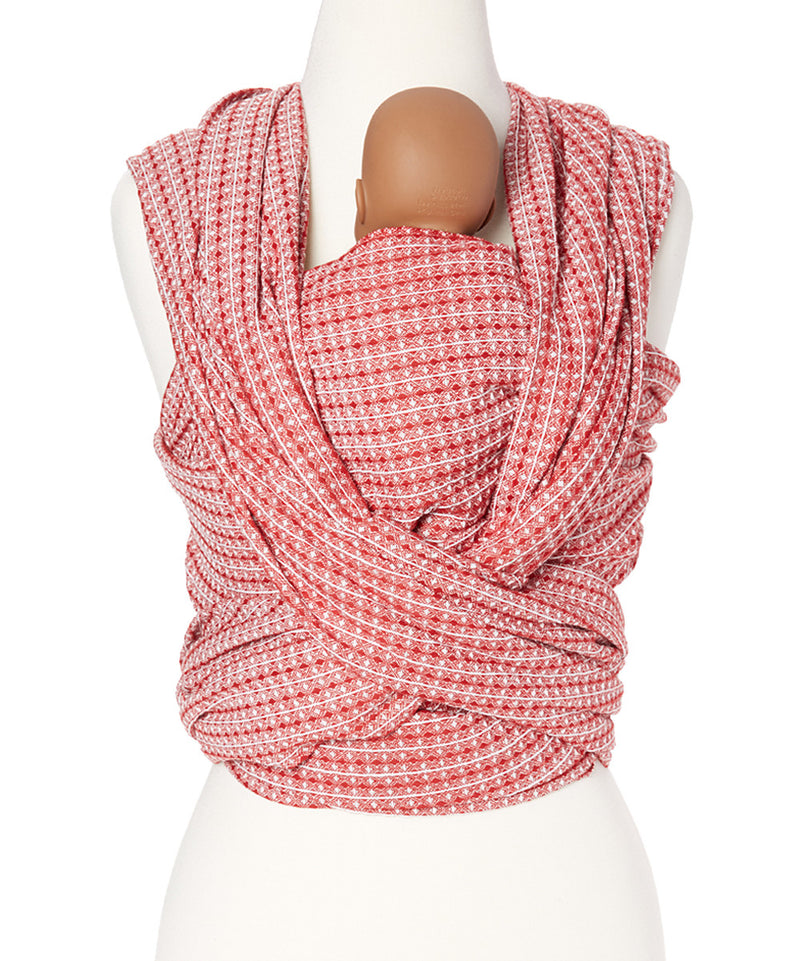 Pomegranate Honeycomb Woven Wrap