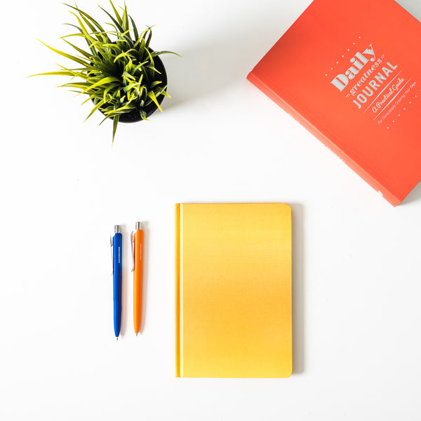 DG Notebook Yellow - Dailygreatness AU