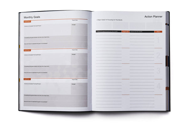 Dailygreatness Success Planner Yearly - Dailygreatness AU