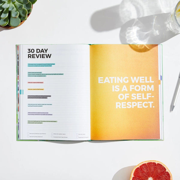 Dailygreatness Wellness Journal Yearly - Dailygreatness AU