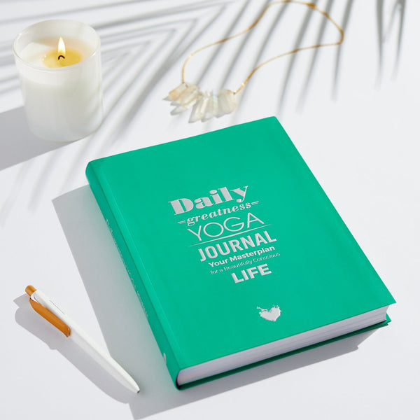 Dailygreatness Yoga Journal Yearly - Dailygreatness AU