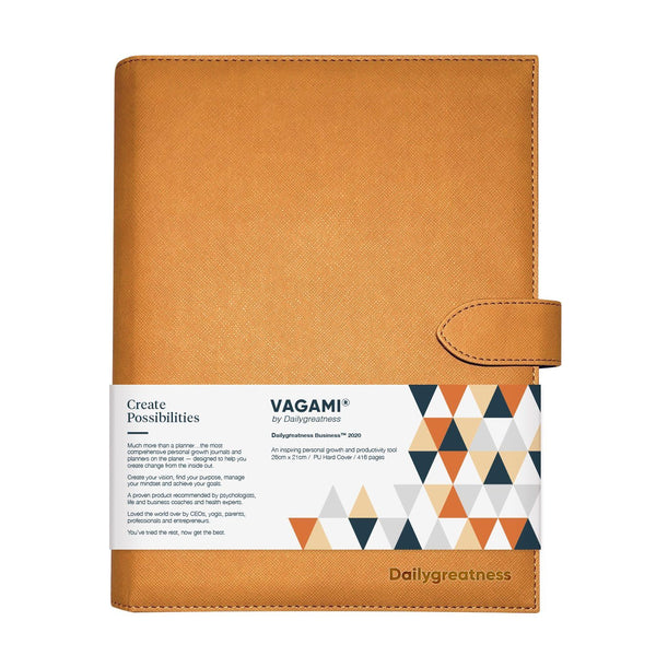 Vagami Business™ Planner 2020 - Dailygreatness AU