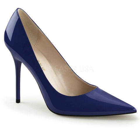 "CLAS20 The Classique 4"" stiletto with pointed-toe."