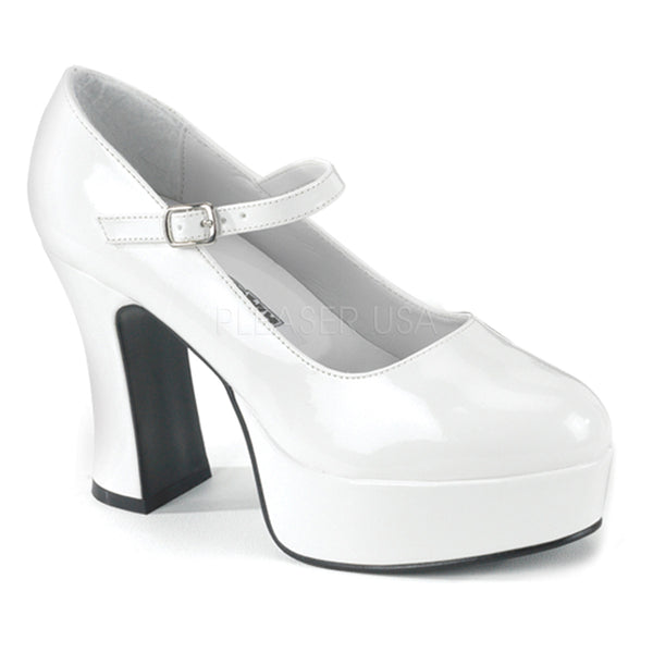 CHUNKY HEEL MARY JANE -MAR50
