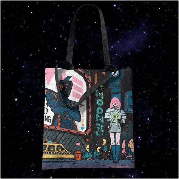 MOON DYE-SUB TOTE BAG