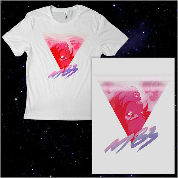 M83 TRIANGLE T-SHIRT AND LITHOGRAPH BUNDLE