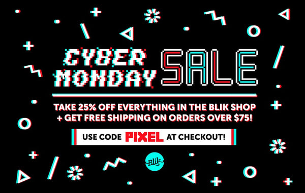 Cyber Monday is here. Time to get to work and do some shopping!