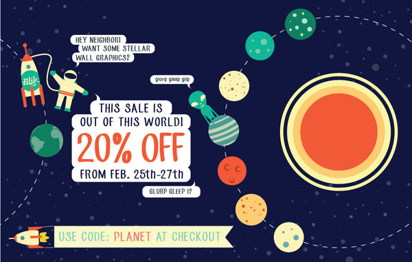 Exo-planetary Weekend Sale!