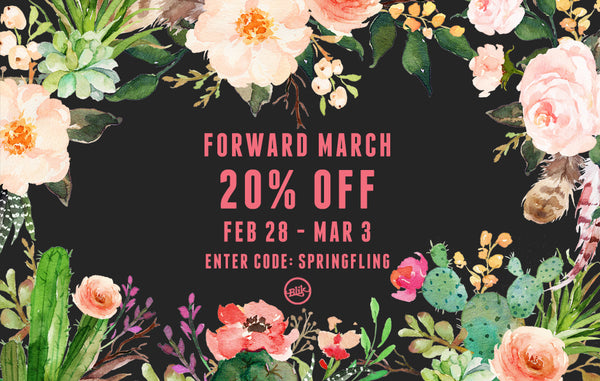 Forward March! It's time for a sale.