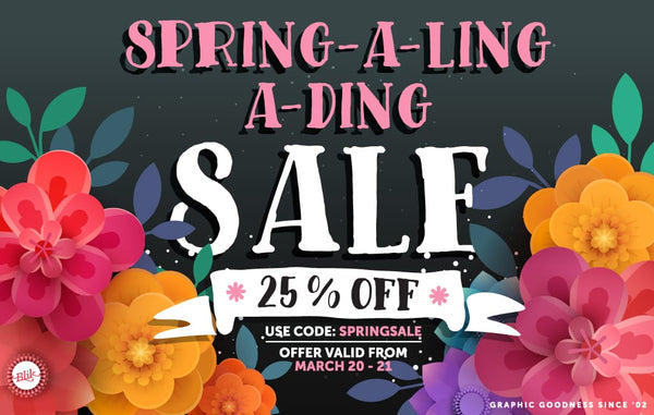Spring-a-ling-a-ding!
