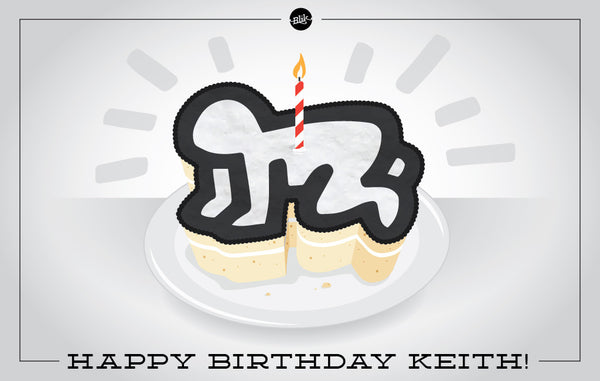 Happy Birthday, Keith Haring! Sale and Giveaway Celebration.