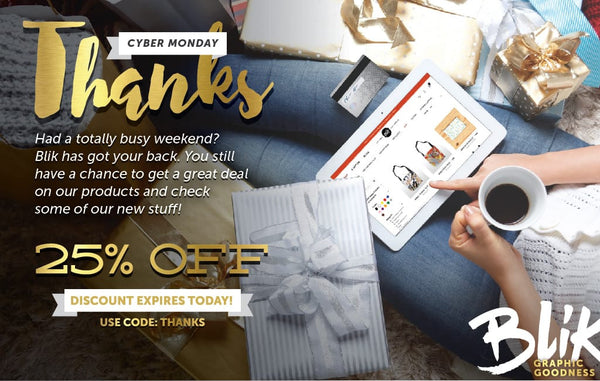 Cyber Alert: 25% off BLIK ends today