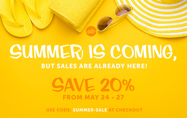 Summer is coming! But our sale is already here!