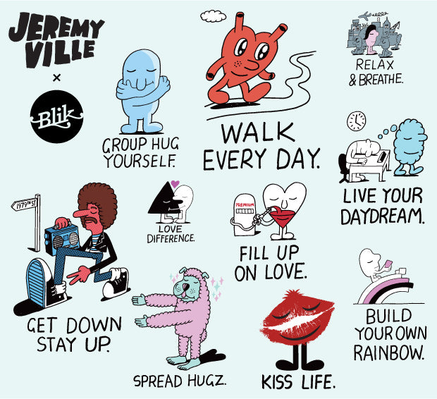 Welcome to Jeremyville! Fun & Inspiring wall decals with a message.