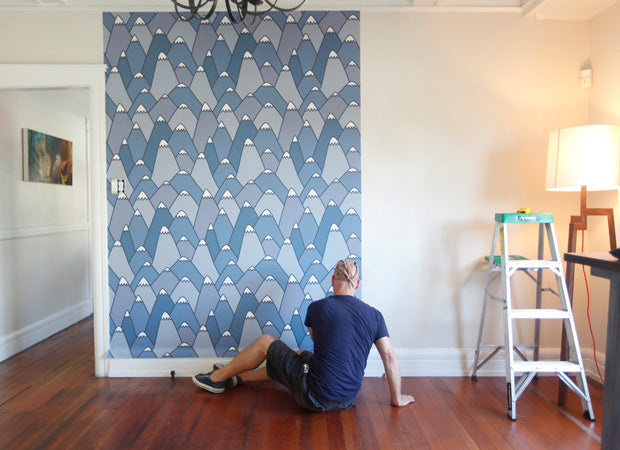 PATTERN WALL TILES ARE BACK. GET STICKY WITHOUT THE ICKY.