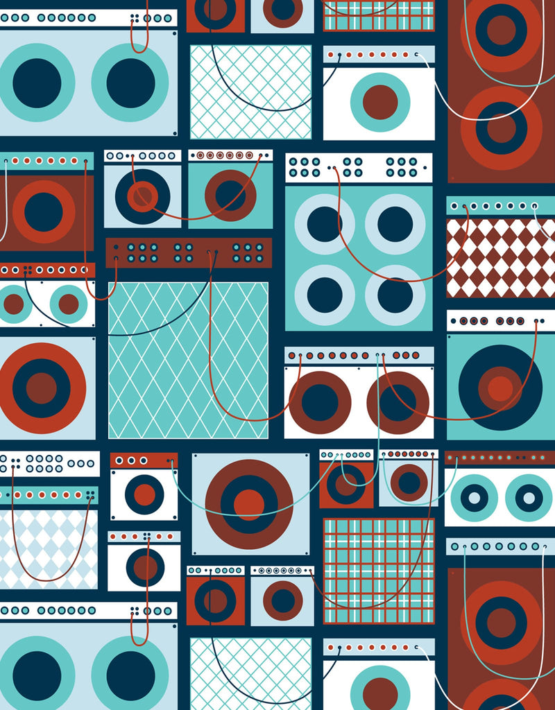 Amps ~ Pattern Wall Tiles