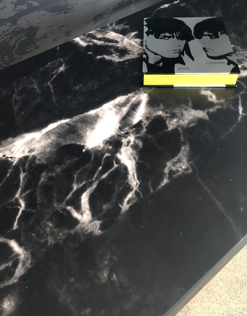 Black Marble Surface Skin