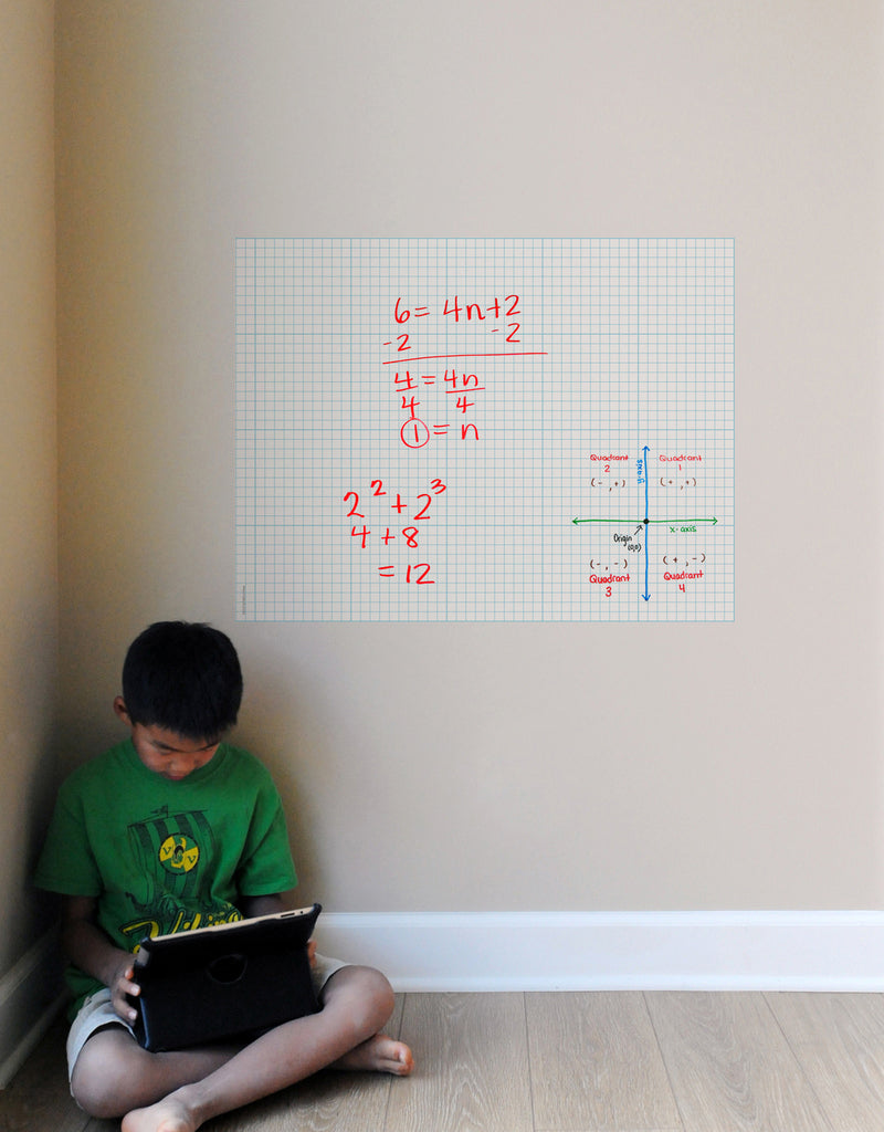 Graph Paper Dry Erase