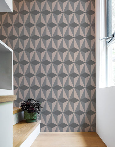 Diamond Grey Wall Panels