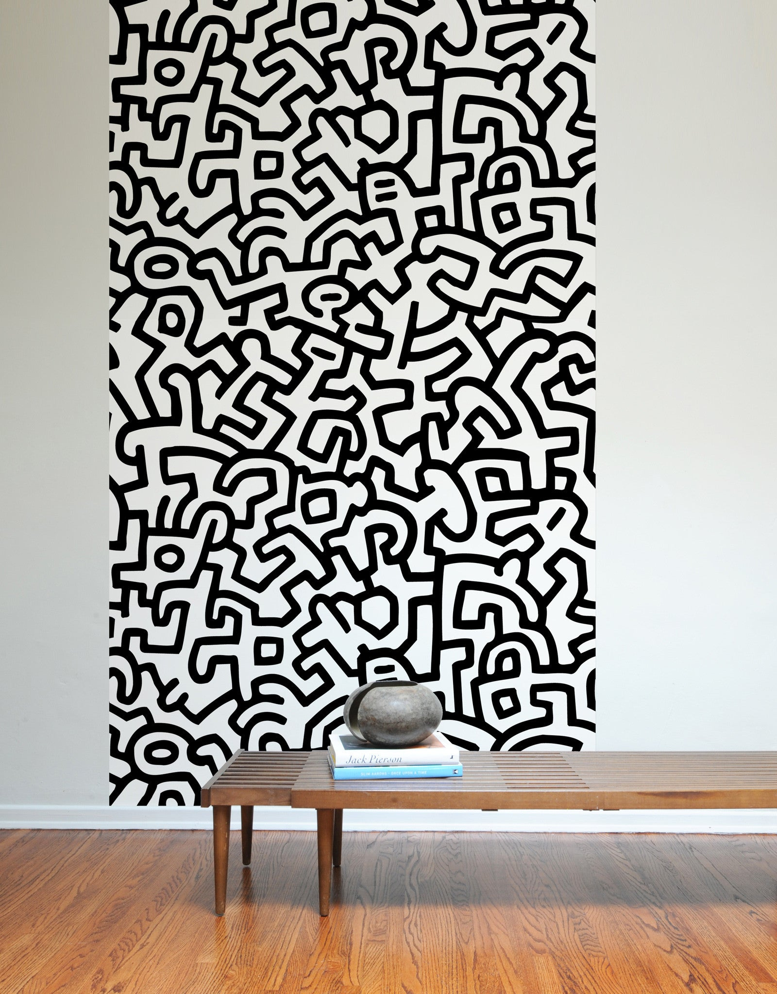 Keith Haring Adhesive Wall Tiles Stick On Wall Tiles Blik