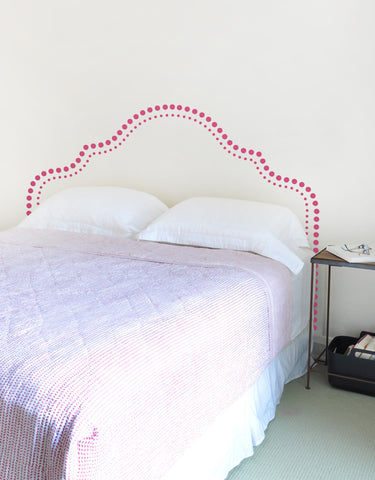 Ava Headboard Wall Decal