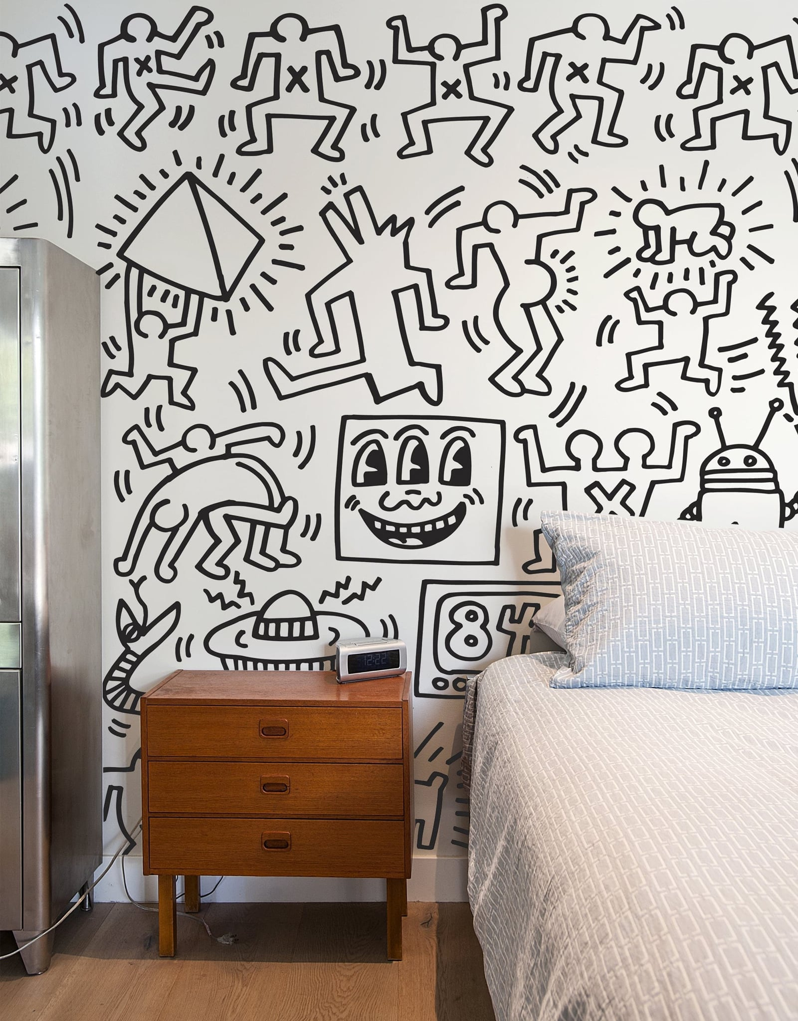 Symbols Wall Panels By Keith Haring Blik